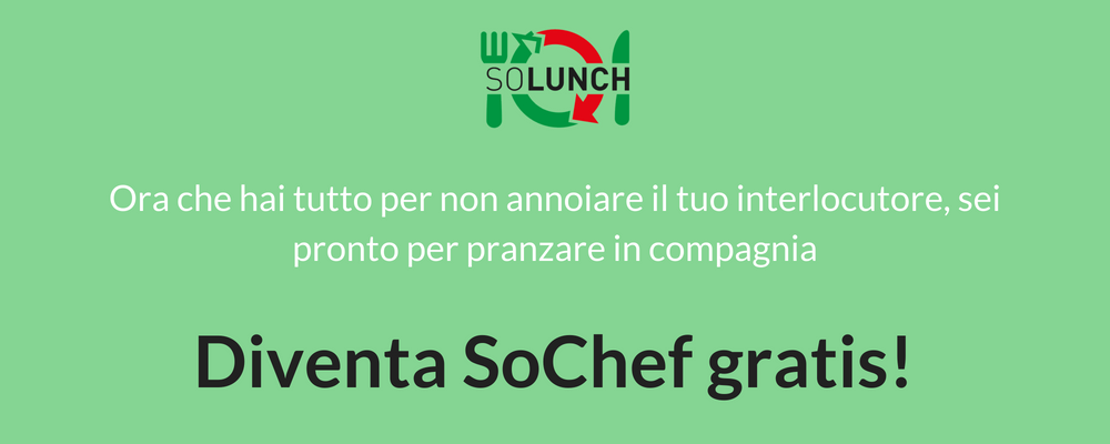Blog After Post pranzo in compagnia