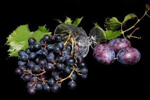 I colori della frutta - blu viola