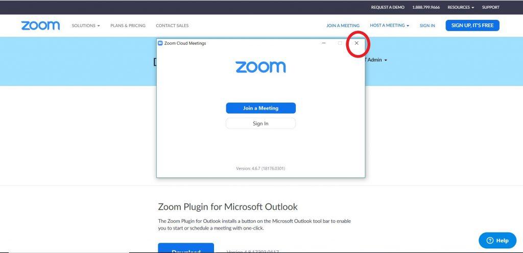 istruzioni zoom